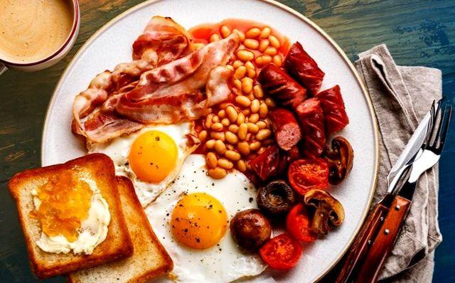 Что едят англичане на завтрак