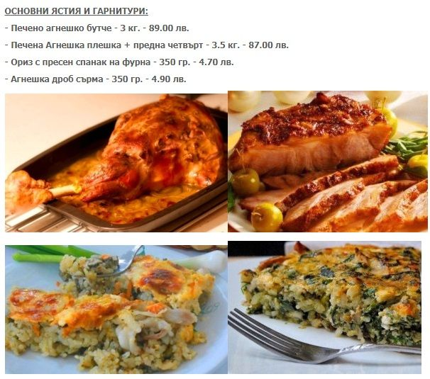 Меню ресторана Parmy Bar&Grill