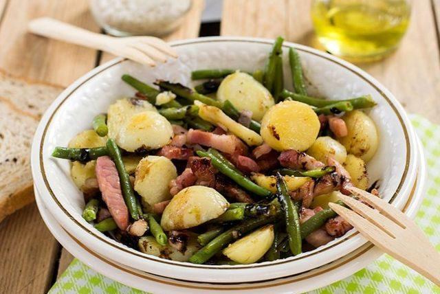 Бельгийский льежский салат