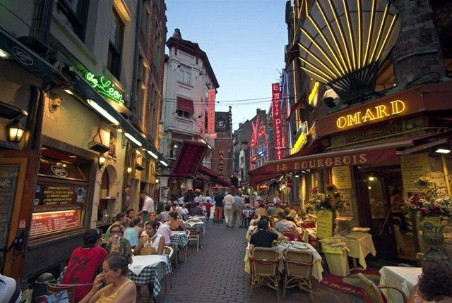 Рестораны Брюсселя