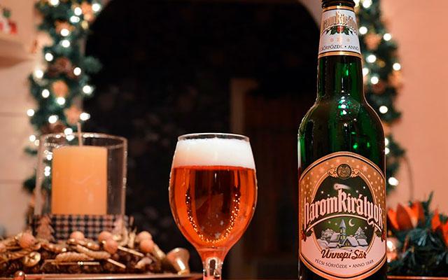 Сезонное пиво Három Királyok