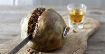 Шотландское блюдо Хаггис