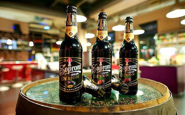 Темное пиво Soproni Fekete Demon