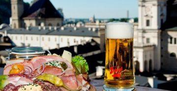 Еда в Зальцбурге, Австрия