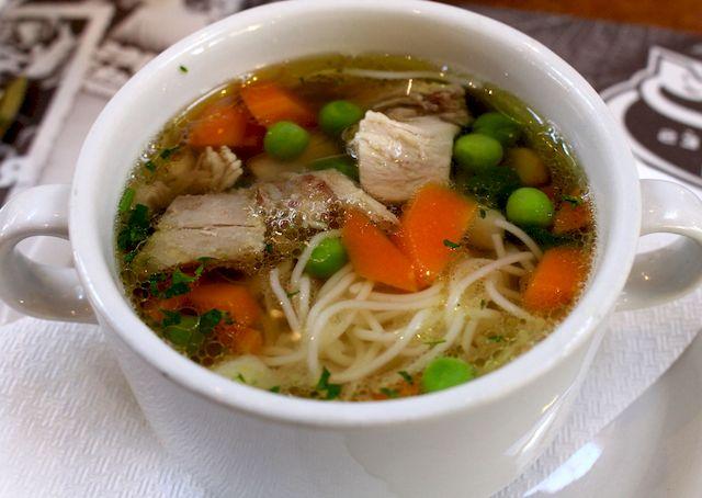 Венгерский куриный суп