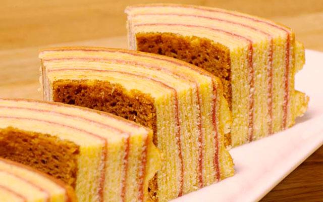 Кекс дерево-пирог