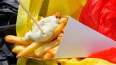 Картофель фри в Бельгии
