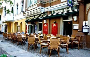 Небольшое кафе Dicke Wirtin