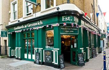 Кафе Goddards at Greenwich