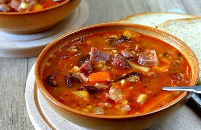 Фасолевый суп Йокаи в Венгрии
