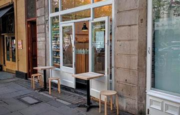Кафе в центре города Lundenwic