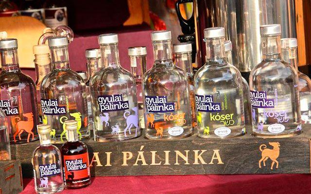 Венгерская водка Pálinka