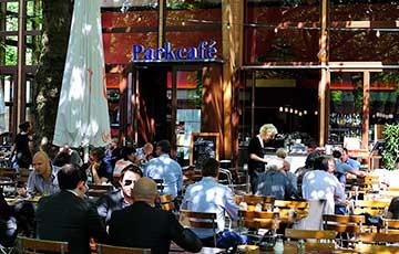 Уютное кафе Parkcafé Berlin