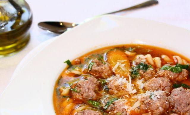 Топчета - болгарский суп