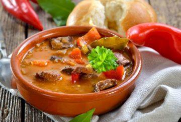 Супы в Венгрии