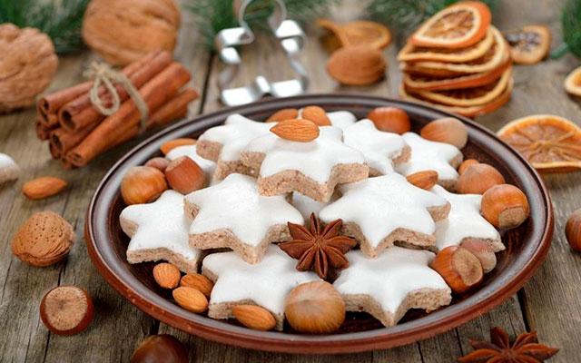 Коричные печенья-звездочки