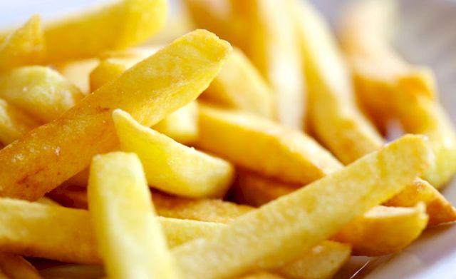 Бельгия, картофель фри