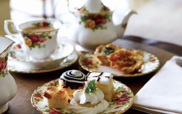 Вечернее чаепитие в Англии