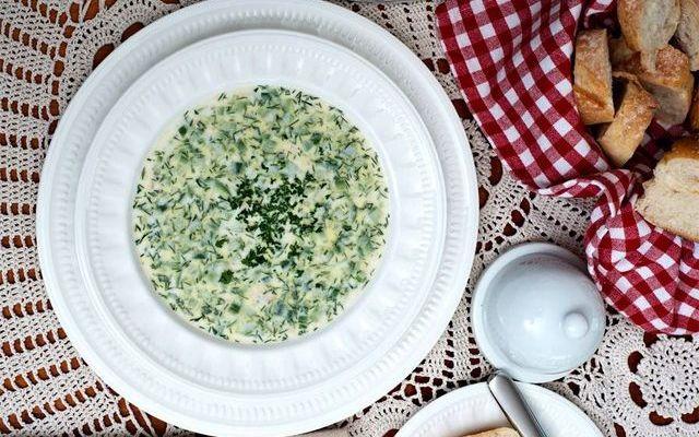 Таратор, суп в Болгарии