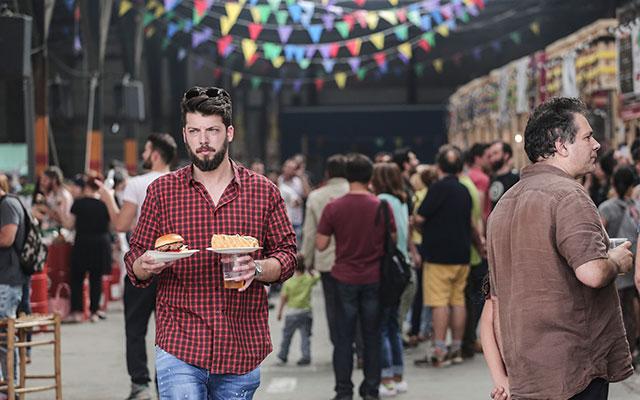 Афинский фестиваль уличной еды