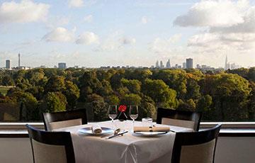 Роскошный ресторан Park Terrace Restaurant