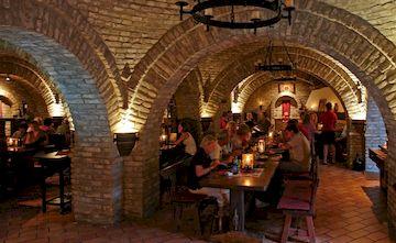 Ресторан Romai Pince в Венгрии