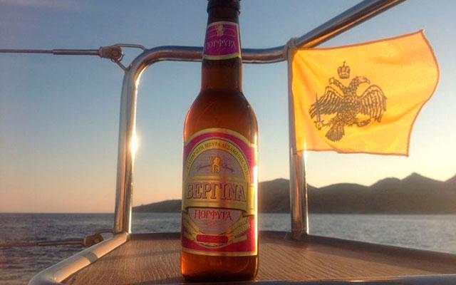 Пиво с фруктовым привкусом Vergina