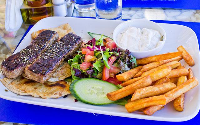 Необычные греческие блюда