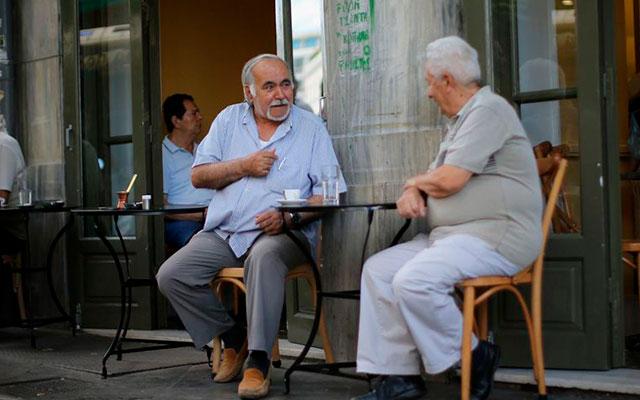 Кафетерий на улице