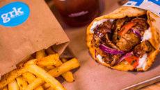 Уличная еда в Греции