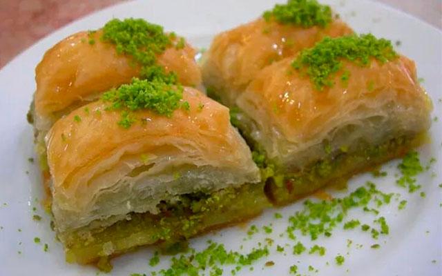 Десерт баклавас