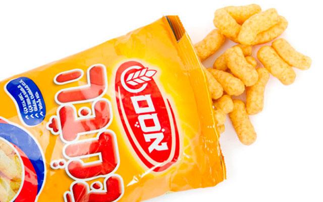 Кукурузные палочки с арахисовым маслом