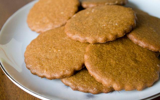 Имбирное сливочное печенье