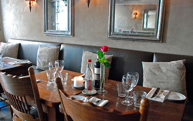 Уютный ресторан Ved Kajen