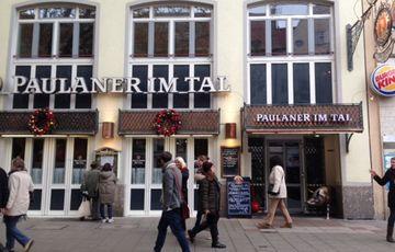 Пивной ресторан Paulaner im Tal