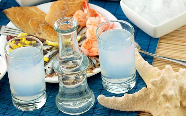 Водка в греции название
