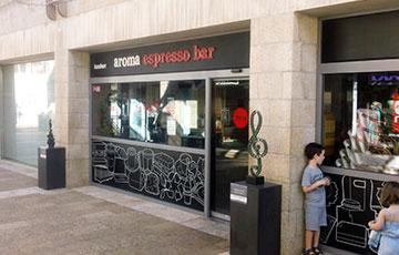 Сеть бюджетных кафе Aroma