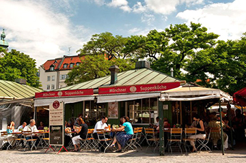 Мюнхенское кафе Münchner Suppenküche