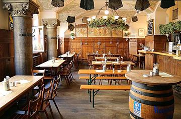 Мюнхенский ресторан Tattenbach