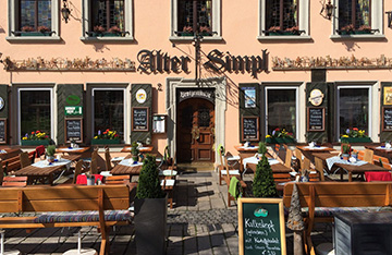 Мюнхенское кафе Alter Simpl
