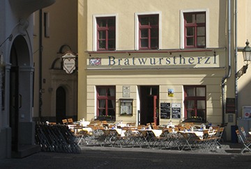 Мюнхенское кафе Bratwurstherzl