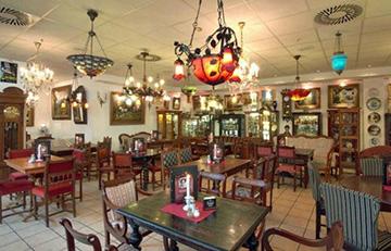 Немецкий ресторан Kunst Café Antik