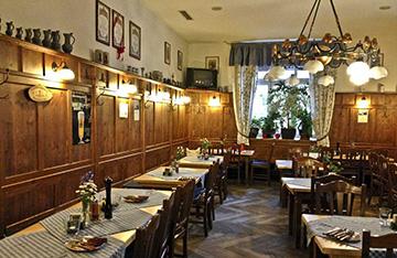Мюнхенский ресторан Zum Brünnstein