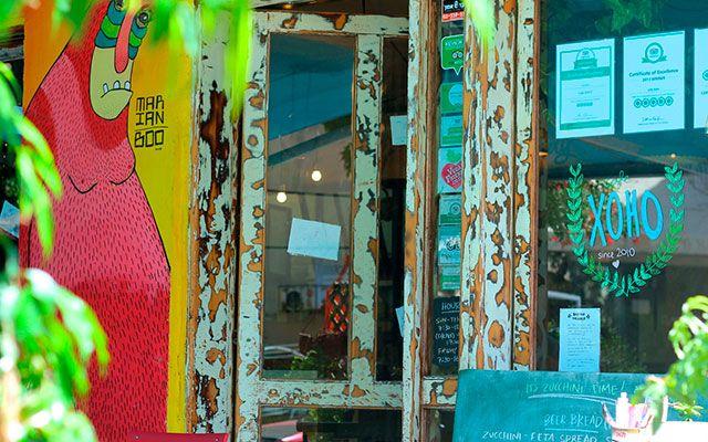 Café Xoho в Тель-Авиве