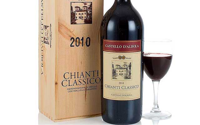Знаменитое итальянское вино Кьянти