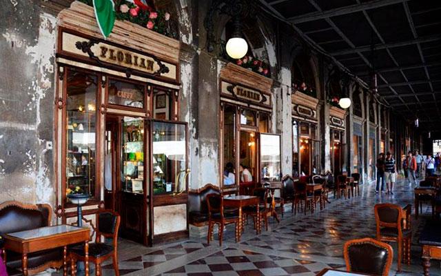 Старейшая кофейня Флориан