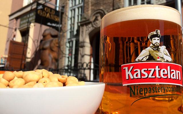 Живое пиво Kasztelan Niepasteryzowane