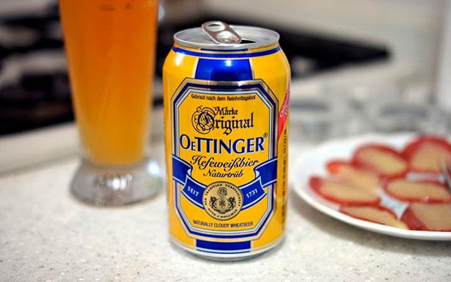 Немецкое пиво Oettinger