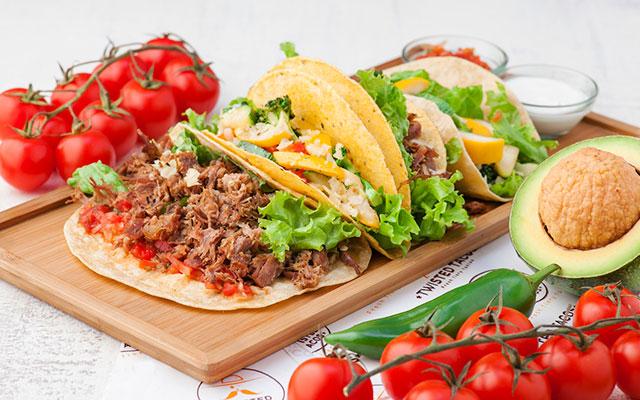 Мексиканские лепешки с начинкой