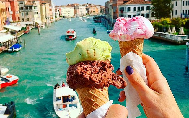 Мороженое в Италии